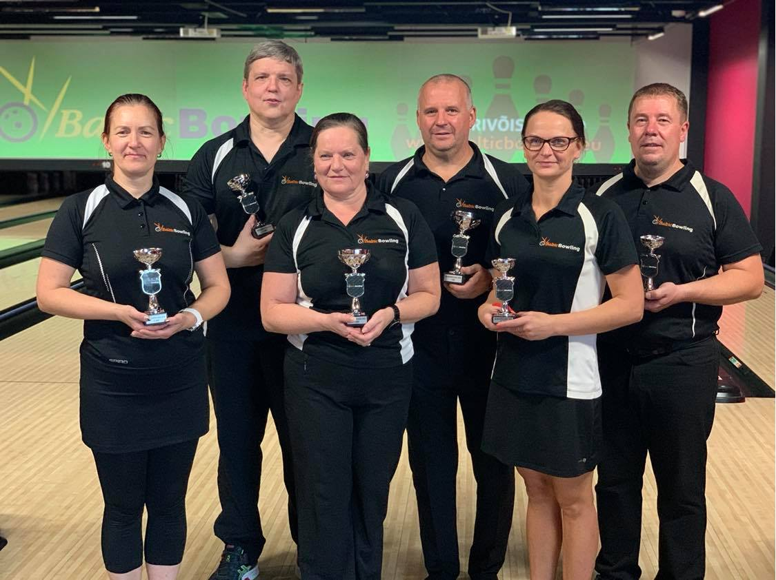 Baltic Bowling selgitas 2020 meistrid